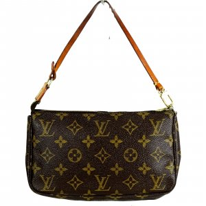 ORIG. LOUIS VUITTON POCHETTE ACCESSOIRES MONOGRAM CANVAS Tasche Bag Clutch /GUT