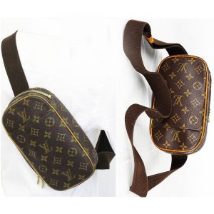 "ORIG. LOUIS VUITTON ""POCHETTE GANGE"" CROSS-BODY-Bag / GUTER ZUSTAND"