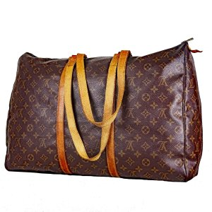 "ORIG. LOUIS VUITTON ""SAC FLANERIE 45"" XXL Tasche / Shopper / WEEKENDER / GUT"