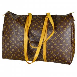 ORIG. LOUIS VUITTON SAC FLANERIE 50 XXL REISE-TASCHE SHOPPER WEEKENDER / GUT