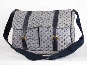 "ORIG. LOUIS VUITTON ""SAC MAMAN"" WICKELTASCHE mit sep. Wickelmatte / GUT"