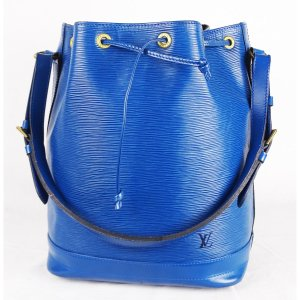 "ORIG. LOUIS VUITTON ""SAC NOE"" BLAU EPI LEDER Beutel /GROSS / GUT"