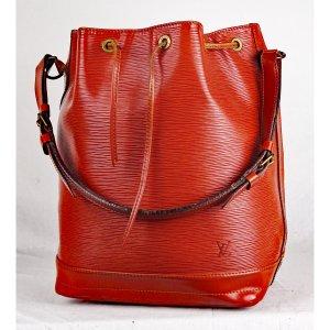 Louis Vuitton Pouch Bag cognac-coloured leather