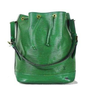 Louis Vuitton Sac seau vert cuir