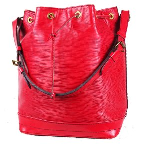 "ORIG. LOUIS VUITTON ""SAC NOE"" EPI LEDER ROT Beutel /GROSS / GUT"