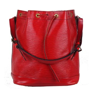 Louis Vuitton Pouch Bag red leather