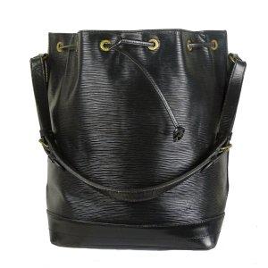 Louis Vuitton Sac seau noir cuir