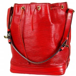 ORIG. LOUIS VUITTON SAC NOE GROSS EPI LEDER ROT RED ROUGE Beutel / GUTER ZUSTAND