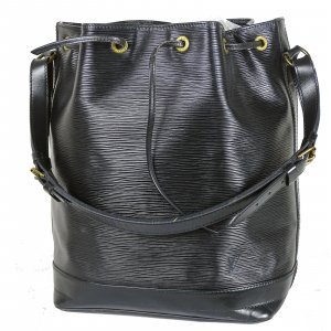 Louis Vuitton Bolso tipo marsupio negro Cuero