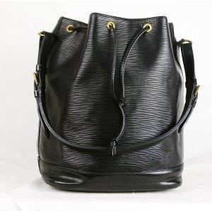 Louis Vuitton Pouch Bag black leather