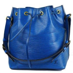 Louis Vuitton Bolso tipo marsupio azul Cuero