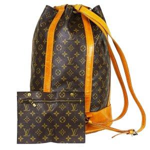 ORIG. LOUIS VUITTON SAC RANDONNEE GM Rucksack Matchbag Sportsbag / GUTER ZUSTAND
