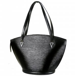 ORIG. LOUIS VUITTON SAINT JACQUES GM EPI-LEDER SCHWARZ TASCHE SHOPPER / GUT
