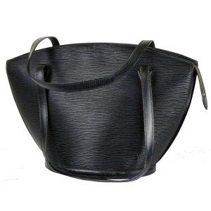Louis Vuitton Shopper noir cuir