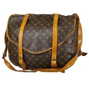 ORIG. LOUIS VUITTON SAUMUR 43 XXL JUMBO Messenger-Bag Weekender Gepäck / GUTER ZUSTAND