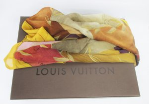 Louis Vuitton Foulard multicolore soie
