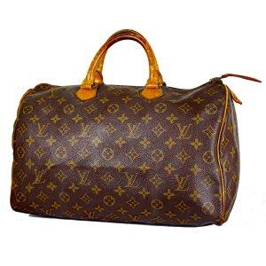 ORIG. LOUIS VUITTON SPEEDY 35 GROSS Handtasche Handbag / GUTER ZUSTAND