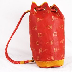 "ORIG. LOUIS VUITTON ""ST TROPEZ"" CUP SAILOR BAG / imitiert u. nummeriert/SEHR GUT"