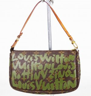 "ORIG. LOUIS VUITTON ""Stephen Sprouse Graffiti Pochette Accessoires"" / GUT"