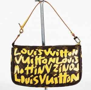 "ORIG. LOUIS VUITTON ""Stephen Sprouse Graffiti Pochette Accessoires"" / SEHR GUT"