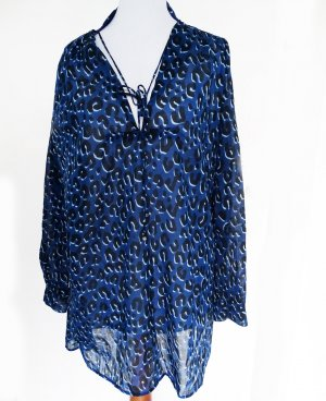 "ORIG. LOUIS VUITTON ""Stephen Sprouse LEO"" TUNIKA BLUSE Gr. 38 / SEHR GUT"