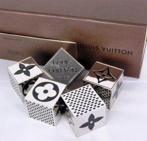Louis Vuitton Borsa clutch argento Metallo