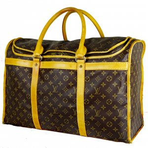 Louis Vuitton Borsa da viaggio marrone-bronzo