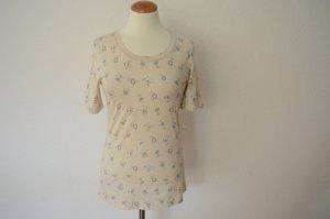 Marni Shirt met print wolwit-blauw Katoen