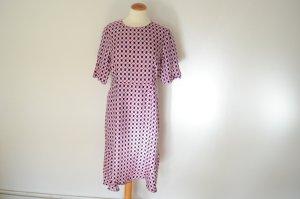 Orig. MARNI Print Kleid mit kurzen Armen IT 44 D 38 hinreißend schön
