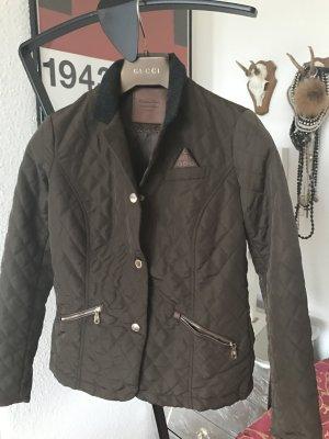 Orig MASSIMO DUTTI Jacket Jacke Blazer S gesteppt braun 129€ zara