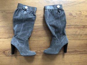 Orig. Michael Kors Luxus Wildleder Blogger Slouch Stiefel 36