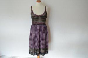 Orig. MISSONI Kleid mit Glitzer Print und Trägern knielang wie NEU!