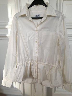 Orig. Moschino Bluse Hemd weiß top