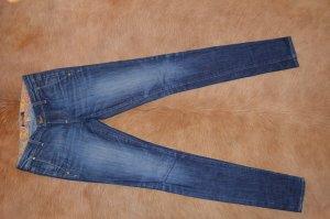 Orig Paige Jeans 25 dunkelblau eng Skinny