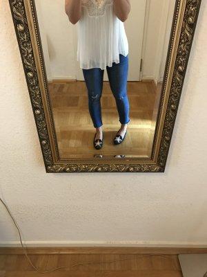 Orig PAIGE Jeans 26/27 cropped Skinny blau