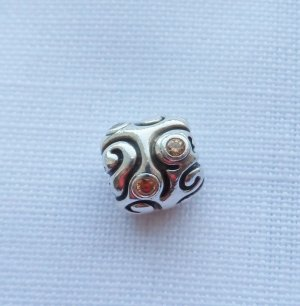 Pandora Charm silver-colored-yellow real silver