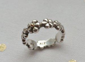 orig. PANDORA Ring 190440-56, 925 Silber und 585 Gold nur wenig getragen
