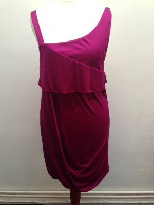 Orig. Pinko Designer Volant Kleid Gr. XS S 34 36 NP: 299€