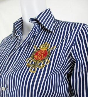 Orig. Polo Ralph Lauren gestreiftes Hemd / Blau-weiss /100%Baumwolle / Gr.36/Hervorragend/