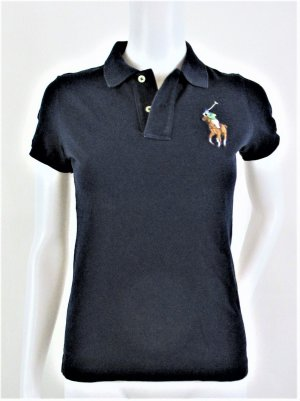 Orig. Polo Ralph Lauren Poloshirt/Blau/100% Baumwolle/ Gr. XS-34