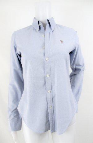 Orig. Polo Ralph Lauren Slim-Fit Oxfordhemd / Hellblau / 100%Baumwolle/Gr.XS-34 US 2 / Hervorragend!