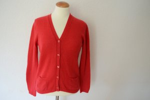 Prada Knitted Cardigan red cashmere