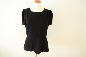 Prada Short Sleeved Blouse black acetate