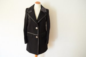 Prada Heavy Pea Coat black new wool