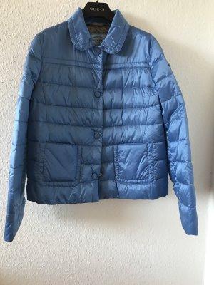 Orig PRADA Daunenjacke Daunen gesteppt blau Jacke S wNeu Winterjacke Steppjacke