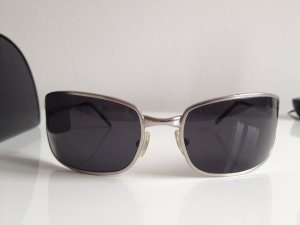 Orig. Prada Sonnenbrille silber metall unisex