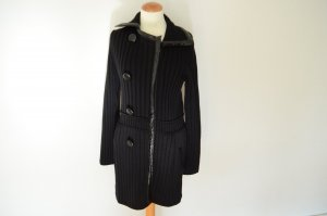 Prada Knitted Coat black new wool