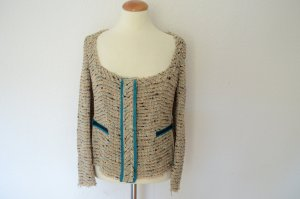 Orig. PRADA Traum taillierte Couture Tweed Blazer Jacke IT 44 D 38