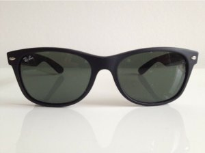 Ray Ban Retro Glasses black synthetic material