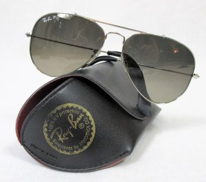 Ray Ban Aviator Glasses silver-colored-grey acetate